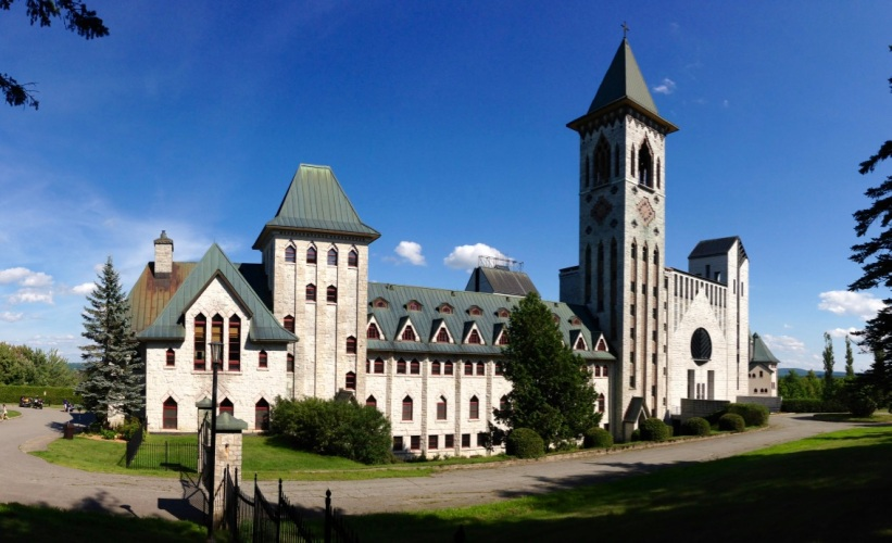 Abbaye Saint-Benoît-du-Lac1
